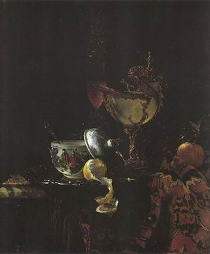 Still Life with Nautilus Goblet 1660