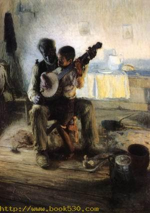 The Banjo Lesson 1893