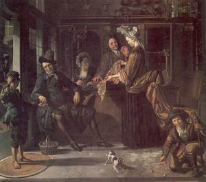 The Cloth Shop 1709