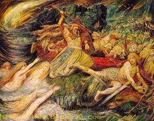 The Death of Siegfried 1899