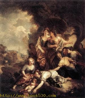 The Finding of Moses 1675-80