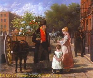 The Flower Seller, 1822