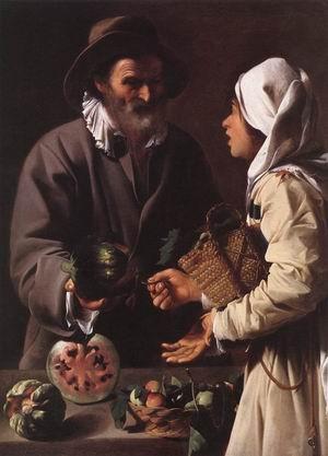 The Fruit Vendor 1615-20