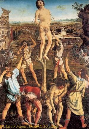 The Martyrdom of Saint Sebastian 1475