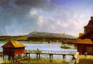 The Old Port of Geneva 1785