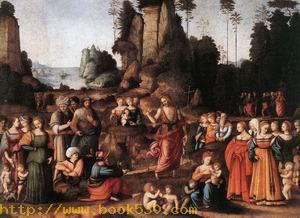 The Preaching of Saint John the Baptist c. 1520