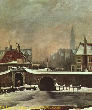The Raampoortje Gate at Amsterdam, 1809