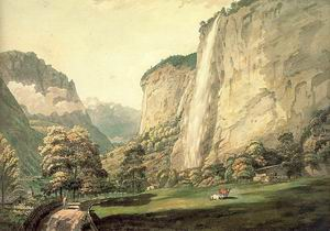 The Valley of Lauterbrunnen and the Staubbach 1770