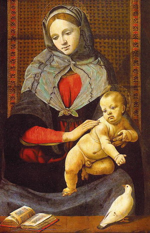 The Virgin & Child with a Dove