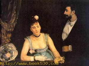 Une loge aux Italiens 1874
