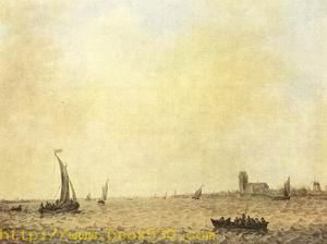 View of Dordrecht from the Oude Maas 1644