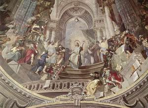 Decoration of the Cupola (detail) 1783