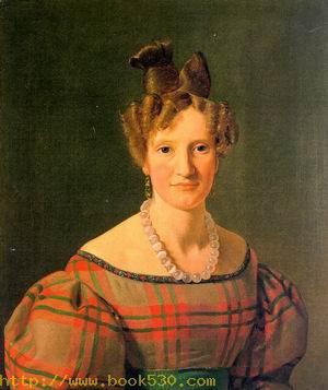 Portrait of Caroline Sophie Moller, 1830