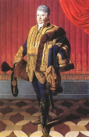 Portrait of Count Ferenc Barkozy 1812