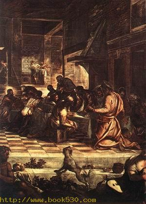 The Last Supper (detail) 1578-81