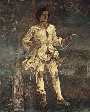 Triumph of Minerva (detail) 1476-84