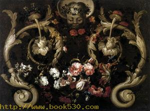 Grotesques with Flowers 1690
