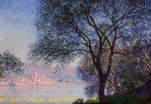 Antibes Seen from the Salis Gardens3 1888
