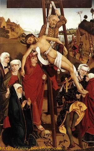 Crucifixion of the Hof Altarpiece 1465