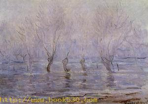 Flood at Giverny 1896-1897