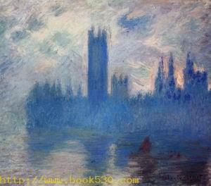 Houses of Parliament Westminster 1900-1901