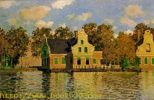 Houses on the Zaan River at Zaandam 1871