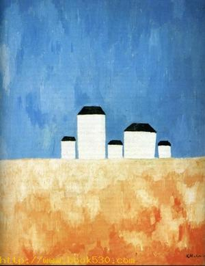Landscape with Five Houses. 1928-1932