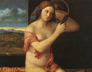 Naked Young Woman in Front of the Mirror approx. 1505-10,