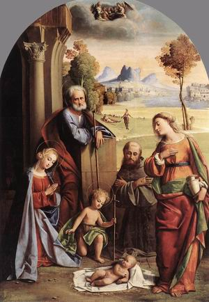 Nativity with Saints 1520s
