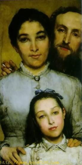 Portrait of Aime -Jules Dalou