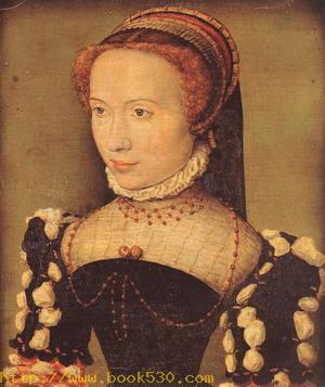 Portrait of Gabrielle de Rochechouart c. 1574