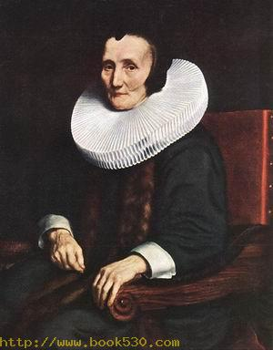 Portrait of Margaretha de Geer, Wife of Jacob Trip c. 1660
