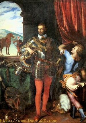 Portrait of Ottavio Farnese c. 1551