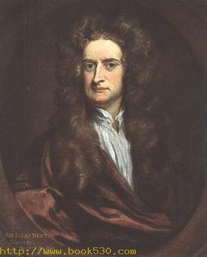 Portrait of Sir Isaac Newton 1702