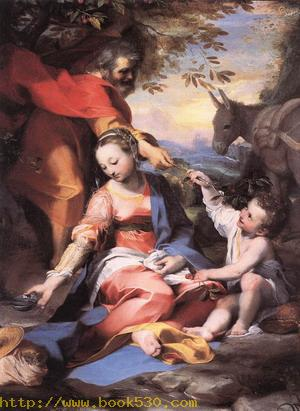 Rest on the Flight to Egypt 1570-73