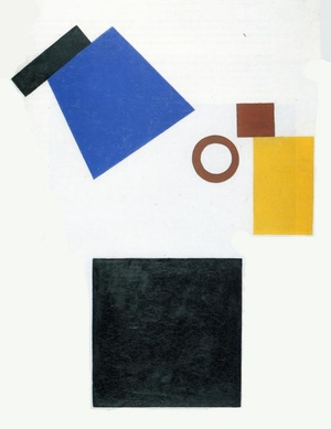 Suprematism. Two-Dimensional Self-Portrait 1915