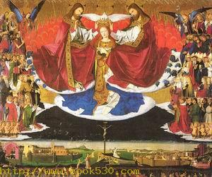 The Coronation of the Virgin 1453-54