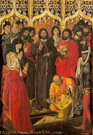 The Resurrection of Lazarus (centre panel) 1461