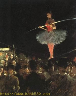 The Tightrope Walker, 1880