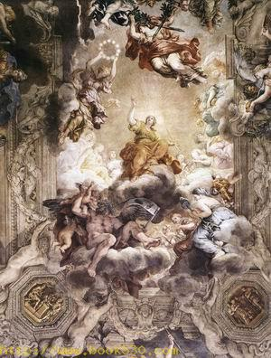 The Triumph of Divine Providence (detail) 1633-39
