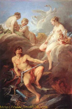 Venus Demanding Arms from Vulcan for Aeneas 1732