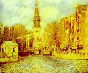 Zuiderkerk in Amsterdam. c.1874