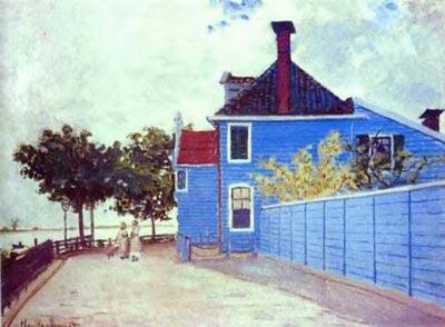 Blue House in Zaandam, The