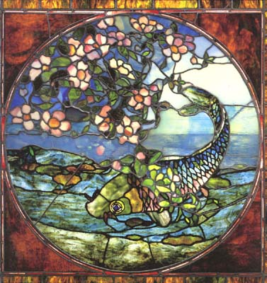 Fish and Flowering Branch
