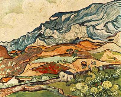 Les Alpilles, Mountainous Landscape near Saint-R