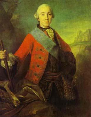 Portrait of Great Duke Peter Fedorovich, Later Emperor Peter III