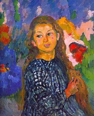 Portrait of Ottilia Giacometti