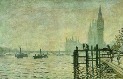 Thames and the Houses of Parliament, The