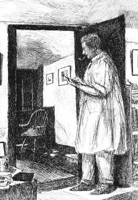 The Etcher (Self-Portrait)