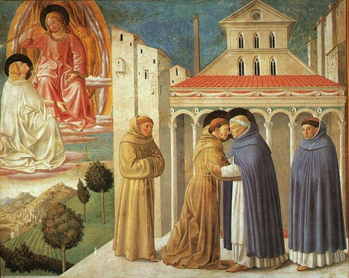 The Meeting of Saint Francis and Saint Domenic